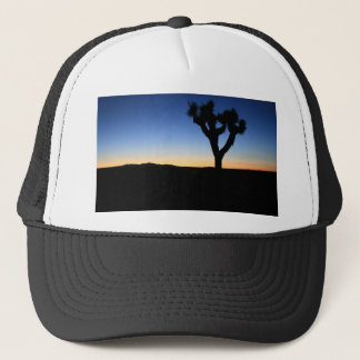 Silhouetted Joshua Tree Trucker Hat
