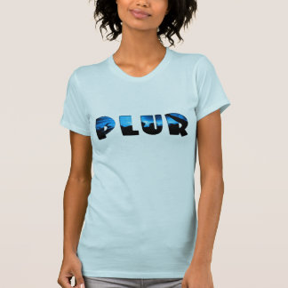 Silhouetted Ravers PLUR Tee Shirt