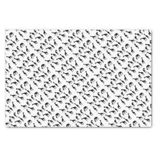 Silhouettes Giraffe Animal Tissue Paper