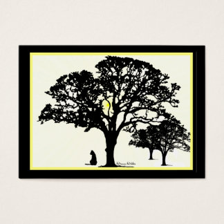 Silhouettes  Miniature Artwork Cards