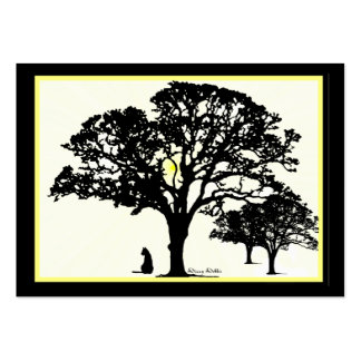 Silhouettes  Miniature Artwork Cards Pack Of Chubby Business Cards