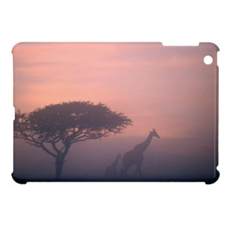 Silhouettes Of Giraffes Cover For The iPad Mini