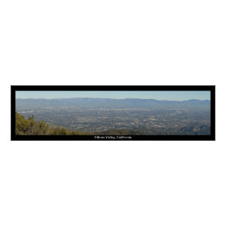 Silicon Valley Panoramic View Print