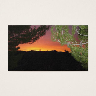 Silicon Valley Sunrise Business Card