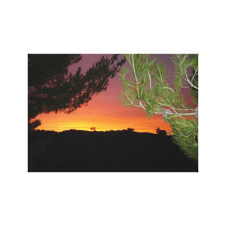 Silicon Valley Sunrise Canvas Print
