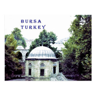 Silk Bazaar Courtyard in Bursa Postcard