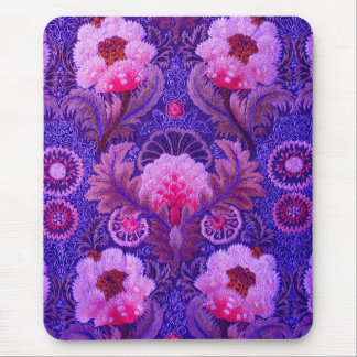 Silk Boho Purple Mouse Pad