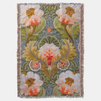 Silk Boho Throw Blanket