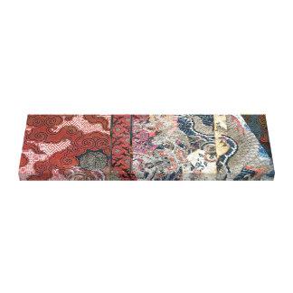 Silk Dragon Tapestry Canvas Print