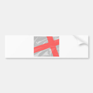 Silk Flag of Saint George Bumper Sticker