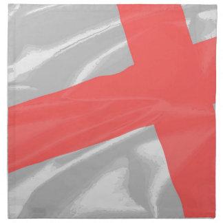 Silk Flag of Saint George Napkin
