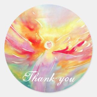Silk I Believe in Angels Thank-you Sticker