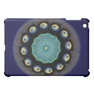 Silk Moth Mandala iPad Cover