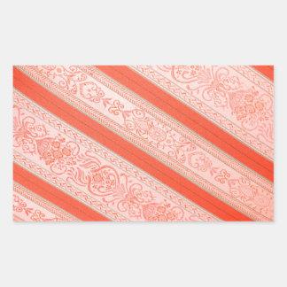 Silk Rectangular Sticker