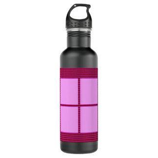Silk Satin Square Theme -  Artistic Color Pallets 710 Ml Water Bottle