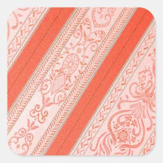 Silk Square Sticker