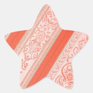 Silk Star Sticker
