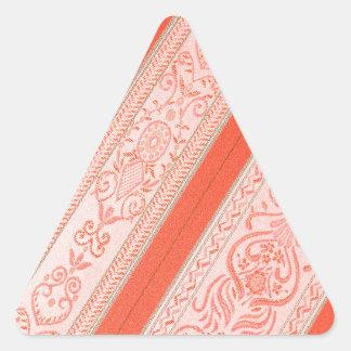 Silk Triangle Sticker