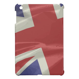 Silk Union Jack Flag Closeup Case For The iPad Mini
