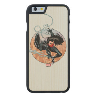 Silk Webslinging Carved Maple iPhone 6 Case