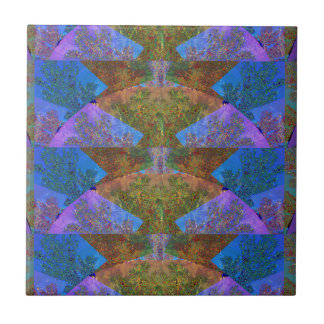 Silken Arc Dream Template DIY add TEXT IMAGE JPG Small Square Tile