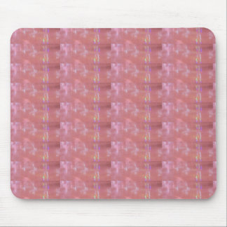 SILKEN Pink Weave Graphic Pattern Mouse Pad