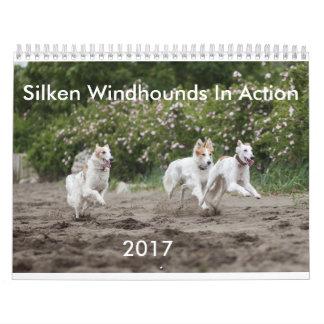Silken Windhounds in Action Calendar