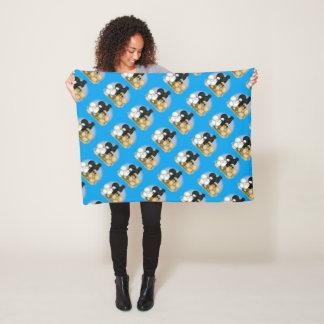 Silkie Trio Fleece Blanket