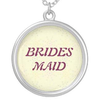 Silktones Cream Wedding Necklaces