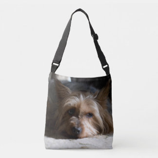 Silky Terrier allover print cross body bag  tote Tote Bag