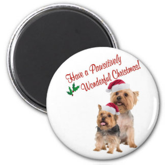 Silky Terrier Christmas Wishes Magnets