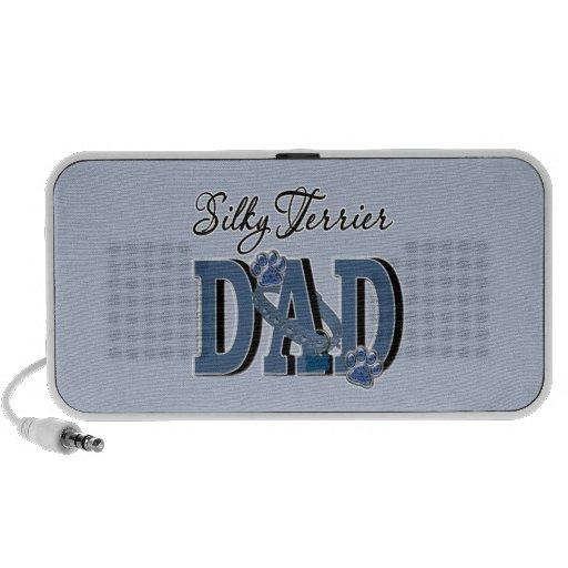 Silky Terrier DAD Travelling Speaker