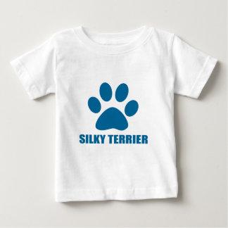 SILKY TERRIER DOG DESIGNS BABY T-Shirt