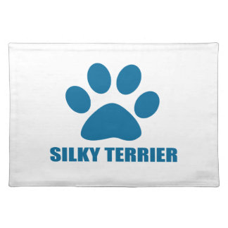 SILKY TERRIER DOG DESIGNS PLACEMAT