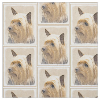 Silky Terrier Fabric