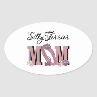 Silky Terrier MOM Stickers