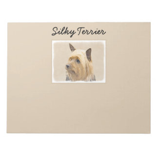 Silky Terrier Notepad