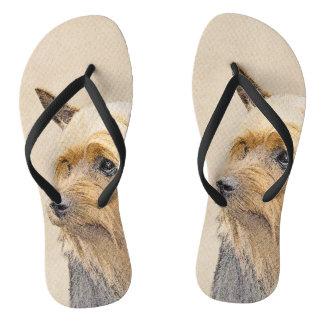 Silky Terrier Thongs
