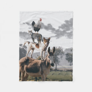 Silly Animal Blanket