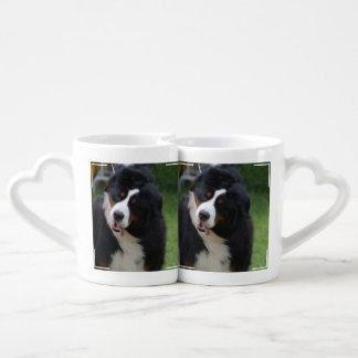 Silly Bernese Mountain Dog Lovers Mug Set