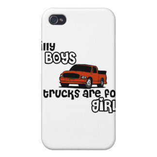 Silly boys... trucks are for girls! iPhone 4/4S case