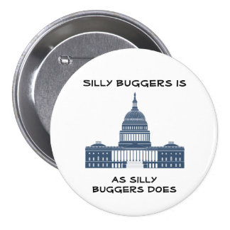 Silly Buggers 7.5 Cm Round Badge