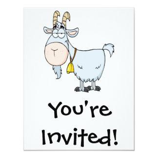silly cartoon billy goat card