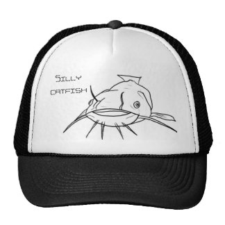 Silly catfish cap