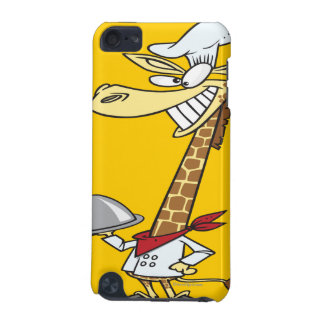 silly chef cook giraffe cartoon iPod touch (5th generation) cover