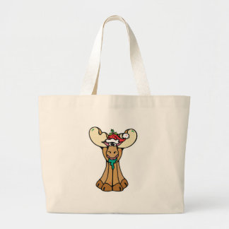 silly christmas moose bags