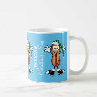 Silly Christmas Nut Personalized Coffee Mug