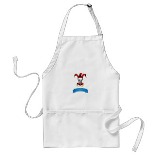 silly death clown standard apron