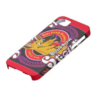 Silly Dog Bourbon Stout Beer iPhone 5 Case