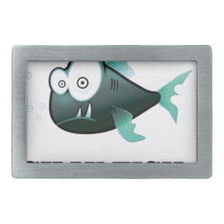 silly fish belt buckles